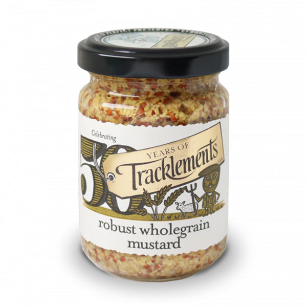 Robust Wholegrain Mustard - Jar 140g