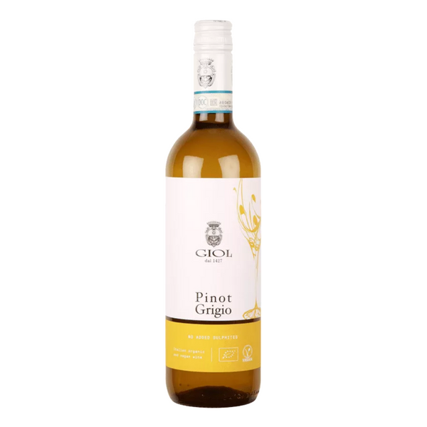 Wine White - Giol Pinot Grigio (No Added Sulphur) - Bottle 75cl
