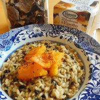 The Seasonist - Wild Mushroom Risotto with Winter Squash & Roast Garlic - Pot 190g