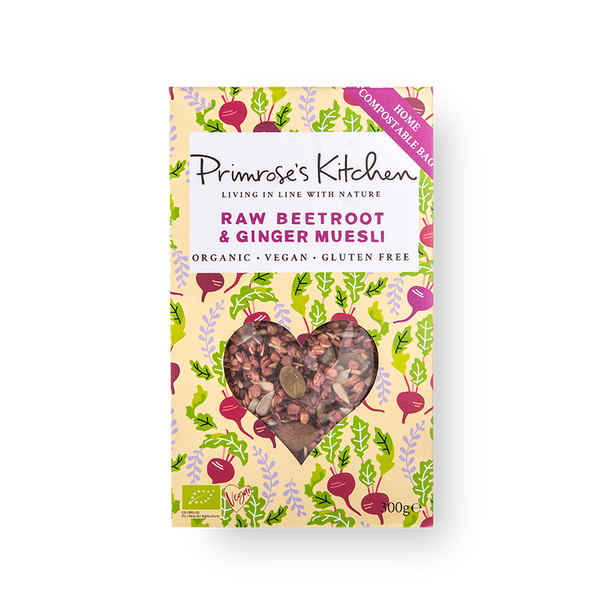 Primrose Kitchen Organic Raw Beetroot & Ginger Muesli