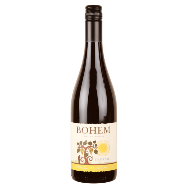Wine Red - Bohem Tempranillo Garnacha - Bottle 75cl or Case of 6