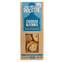 Great British Biscotti - Cheddar & Fennel - 100g Box