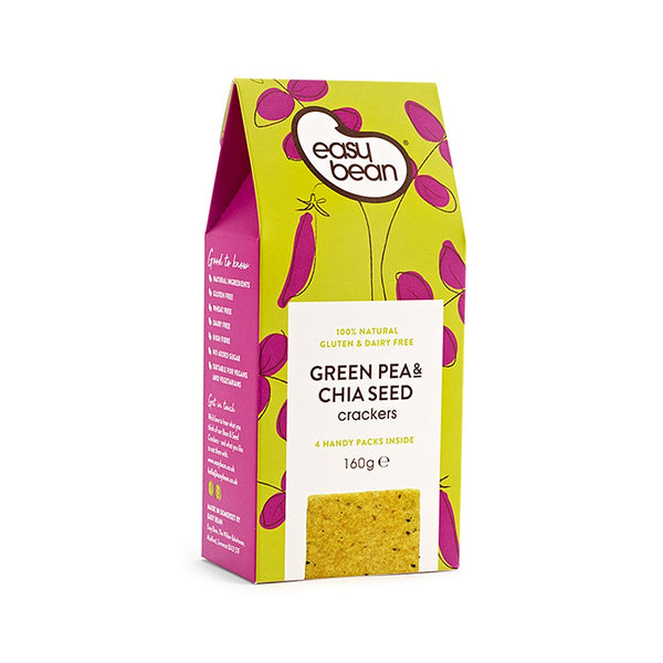 Green Pea & Chia Seed Cracker