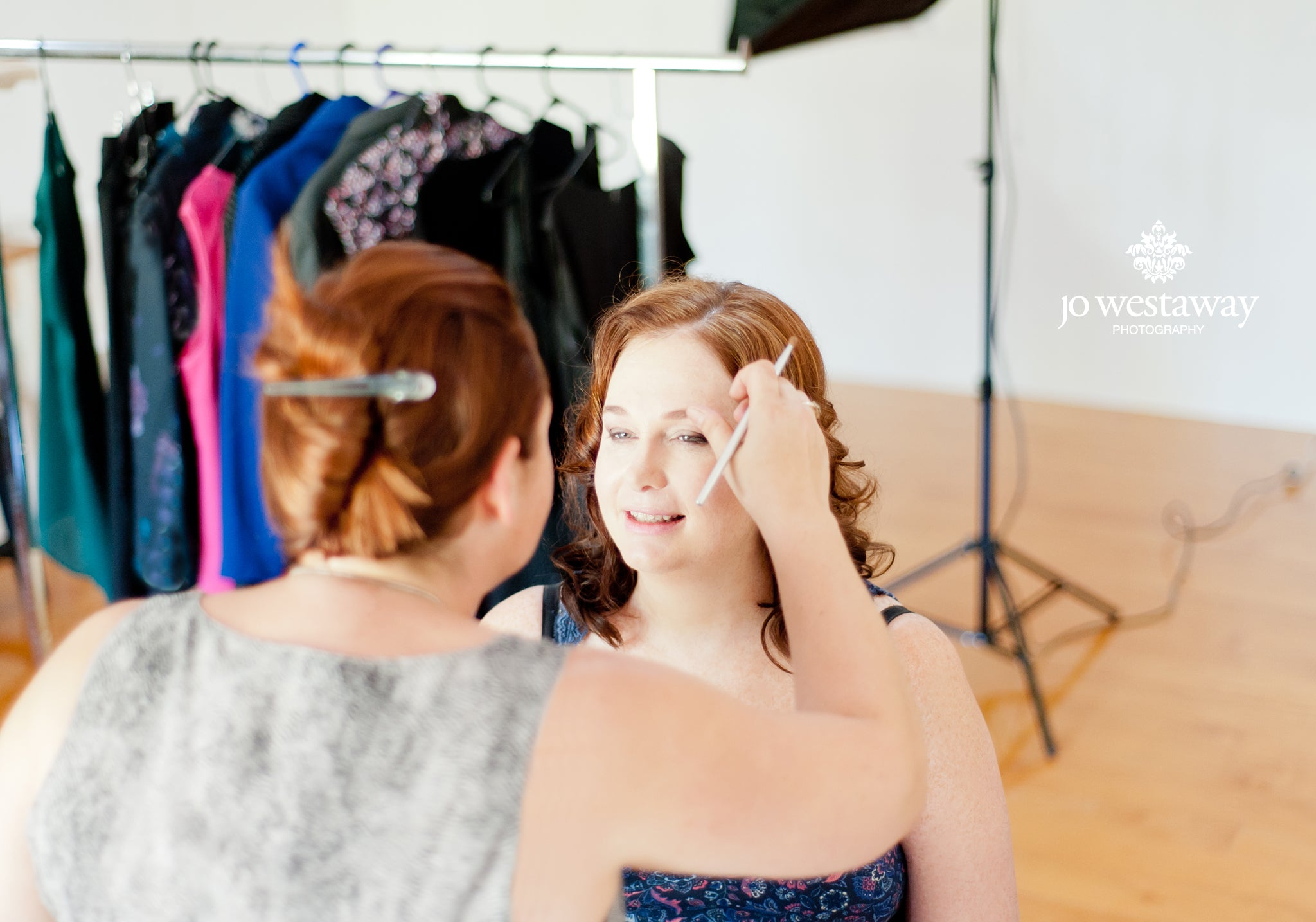 Personal branding photography shoot with professional hair and make-up