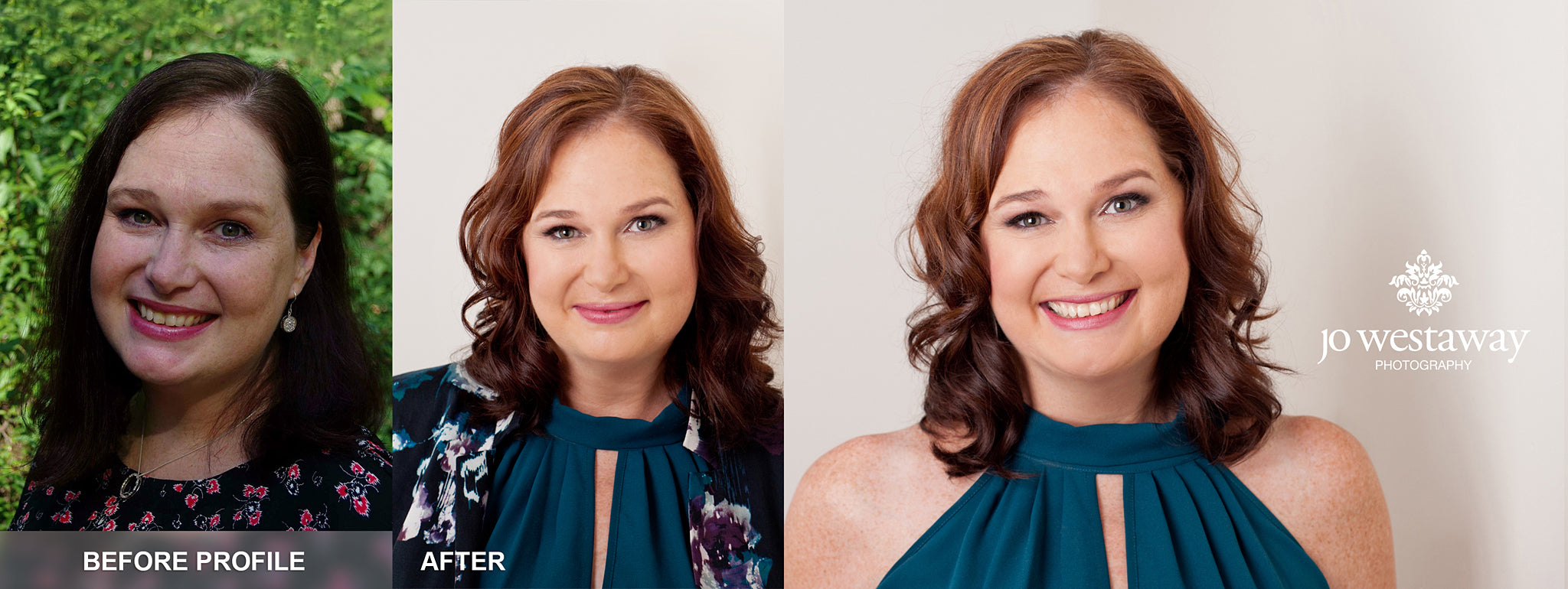 before and after headshots and personal branding photos - how to confident