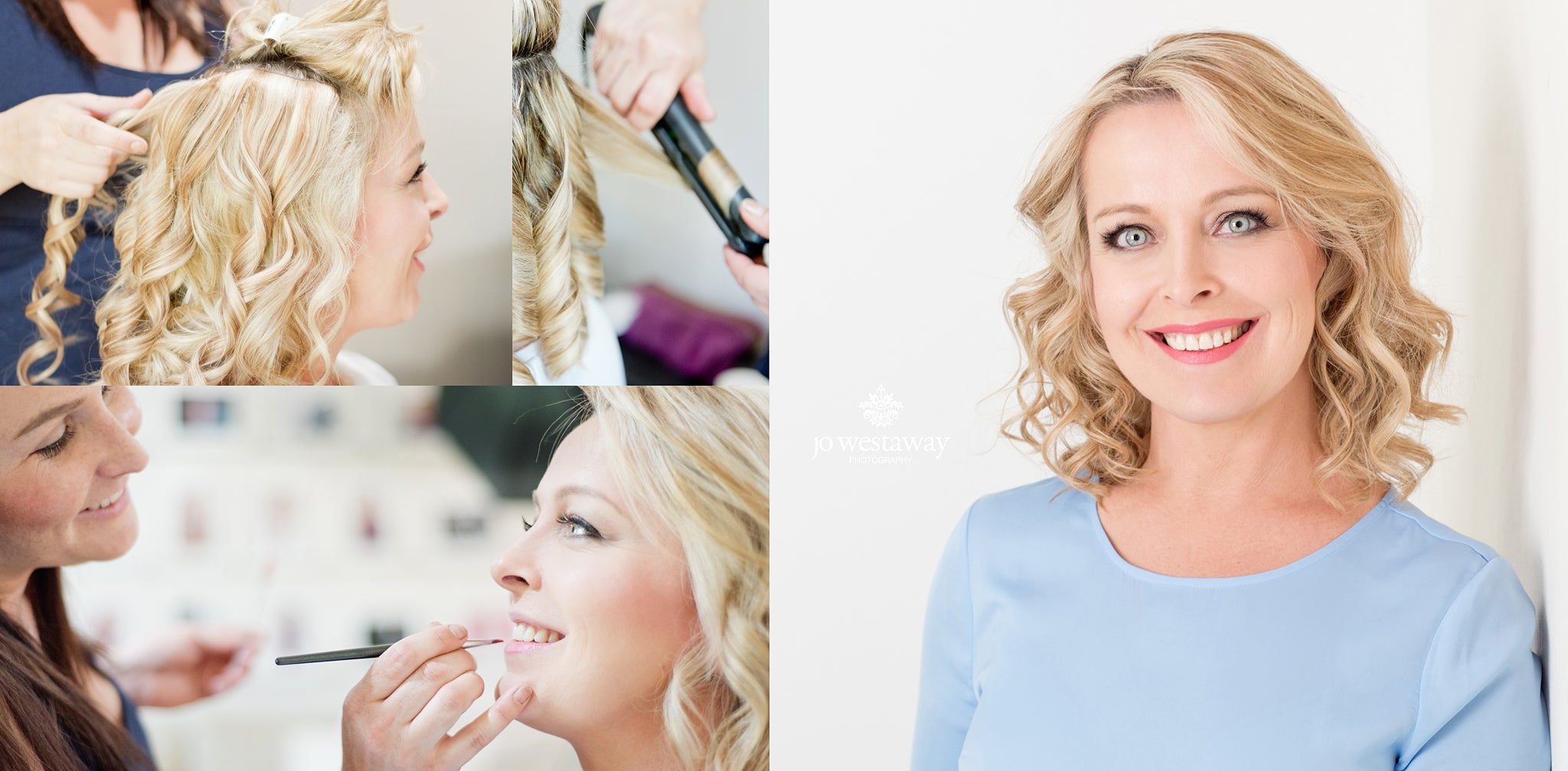Hair and makeup and modern headshots - stunning images