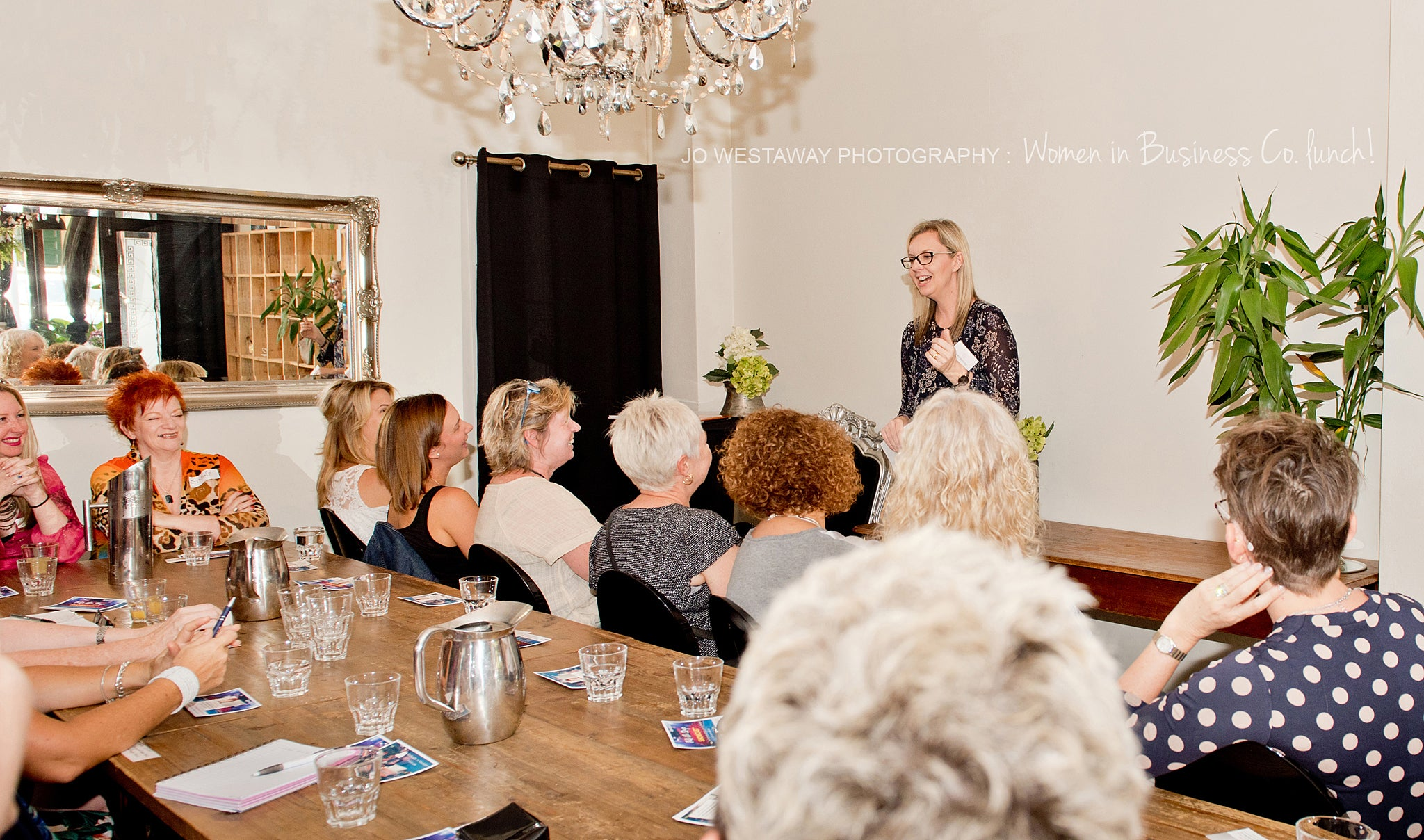 Personal brand photographer Jo Westaway hosts Brisbane business networking event
