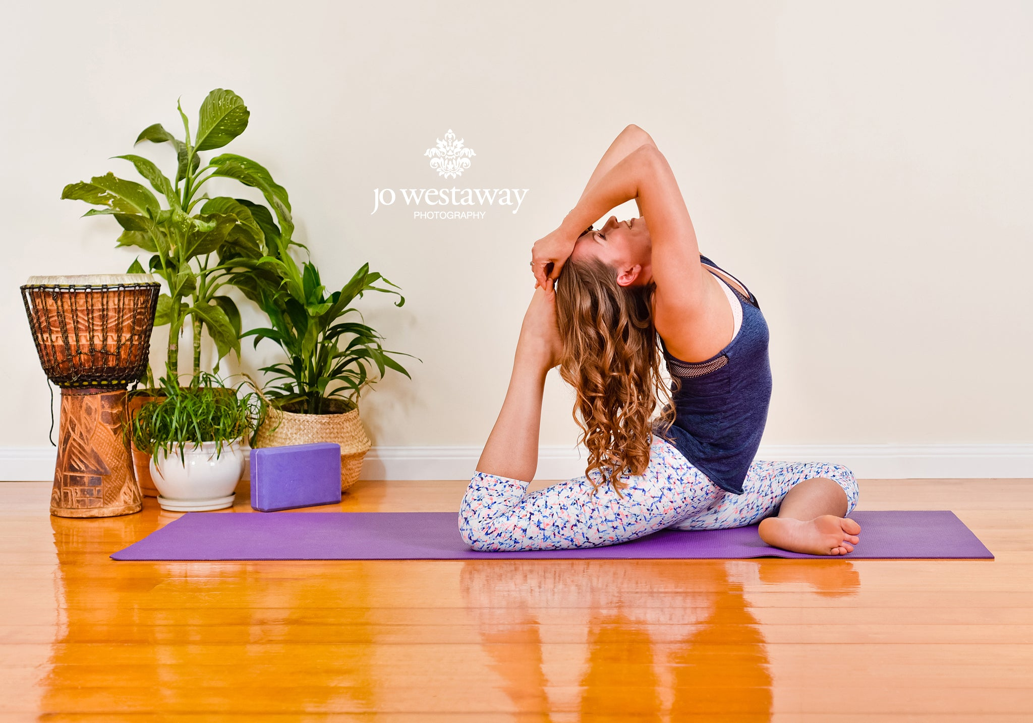 Yoga business photos and personal brand images - Brisbane branding photography studio