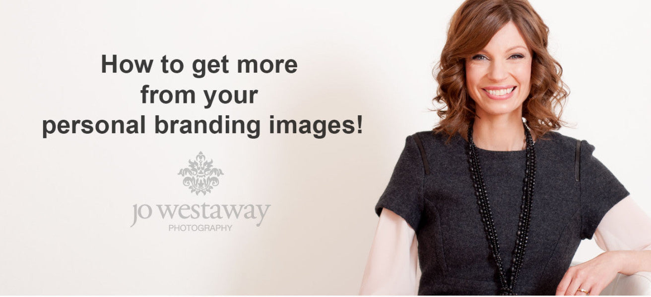 How to get more from your personal branding images