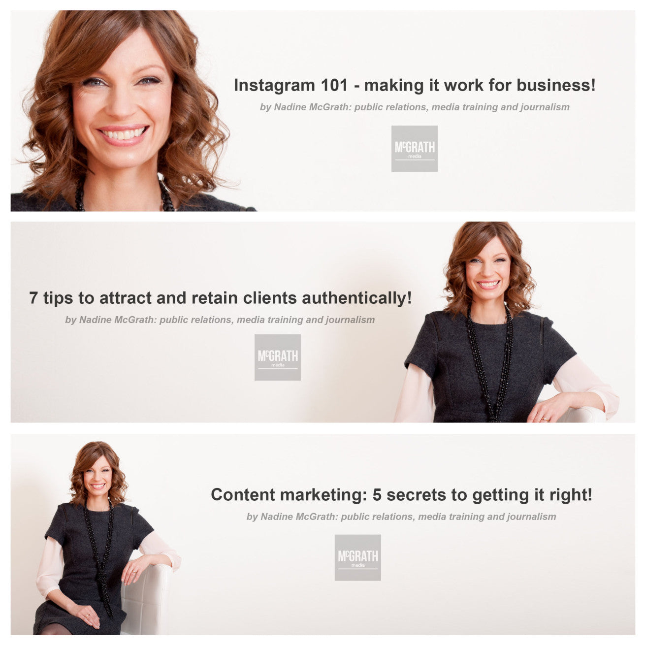 How to use a personal brand photo or head shot more times