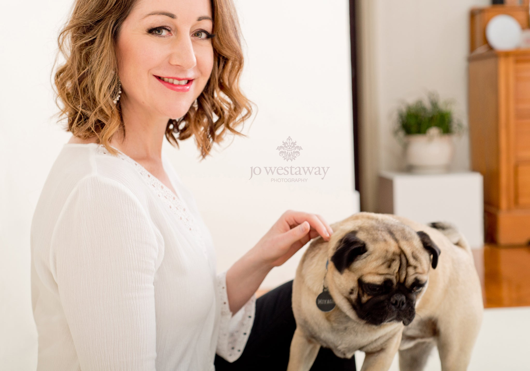 Pets in business and personal branding photography sessions - bring your dog to work