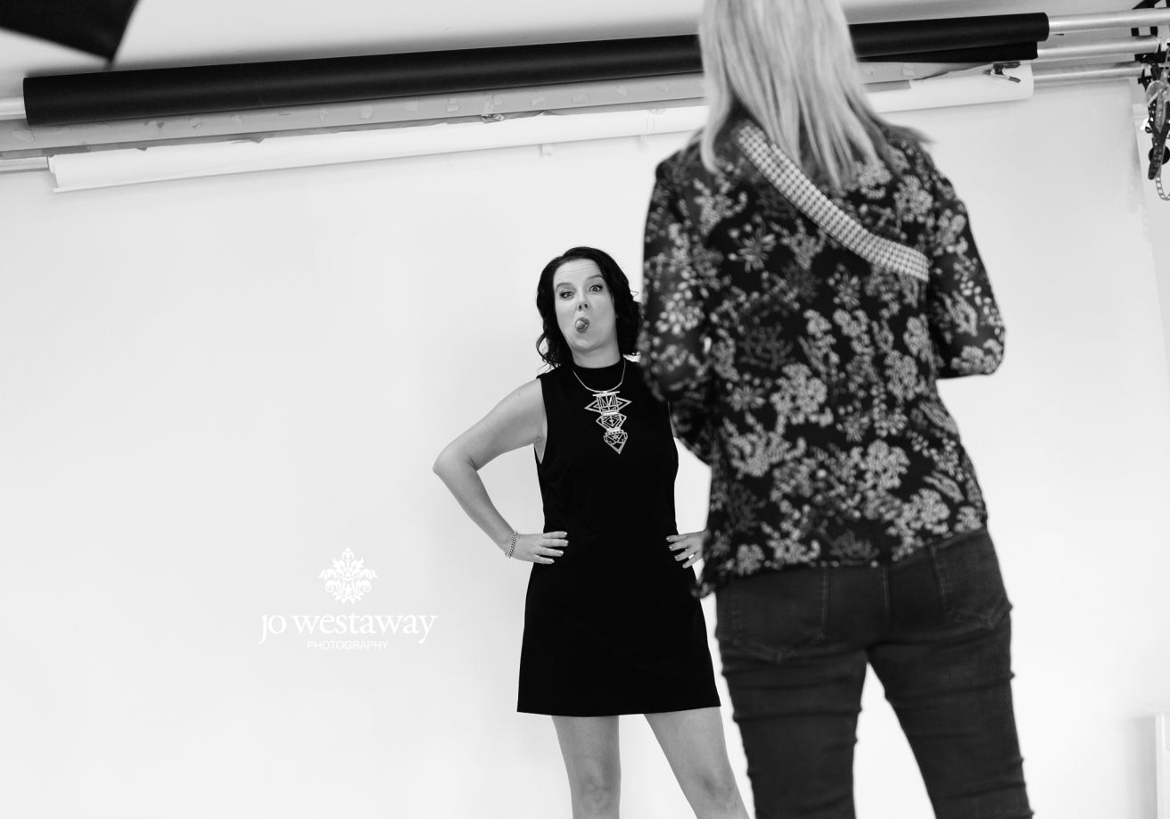 Personal brand photography studio with Jo Westaway Photography