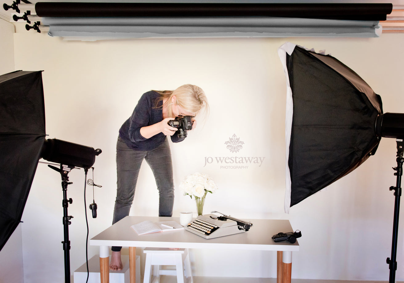 Custom stock photography - on-brand photos - behind the scenes
