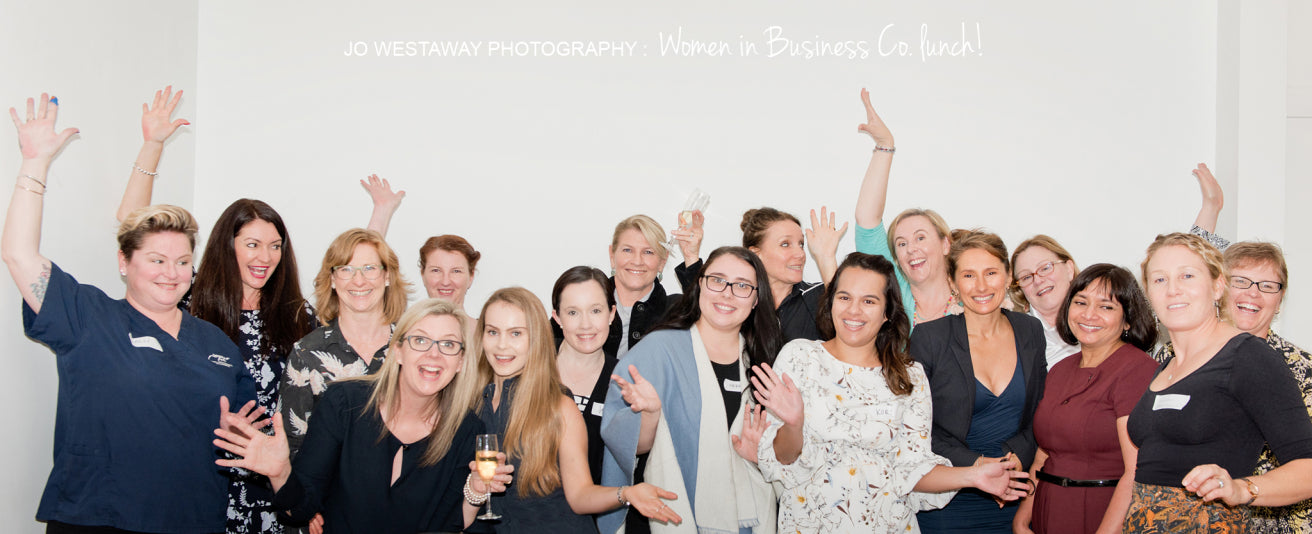 Presenting at WIBCo - Brisbane's business women network event - brand