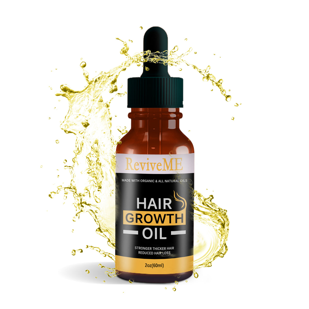 Castor Oil Organic Hair Growth Oil - 2OZ