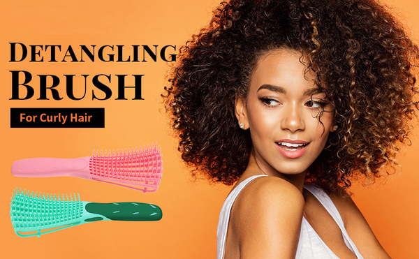 "Easy Detangling Hair Brush | Get it 100% FREE ADD ""SHAMPOO/CONDITIONER - SET"""