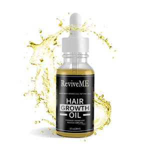 All Natural Biotin Hair Growth Oil - NEW 2OZ