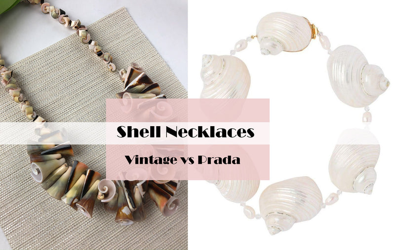 Prada Shell Necklace