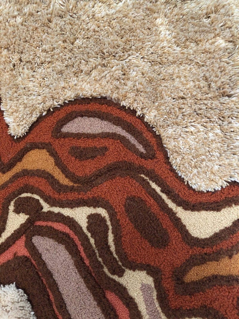 Cabin Craft rug detail