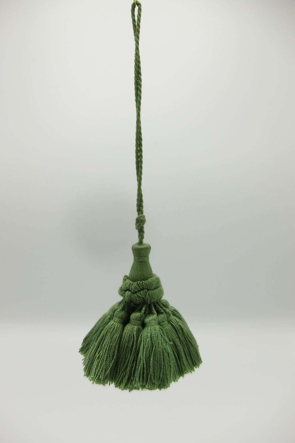 green vintage decorative tassel