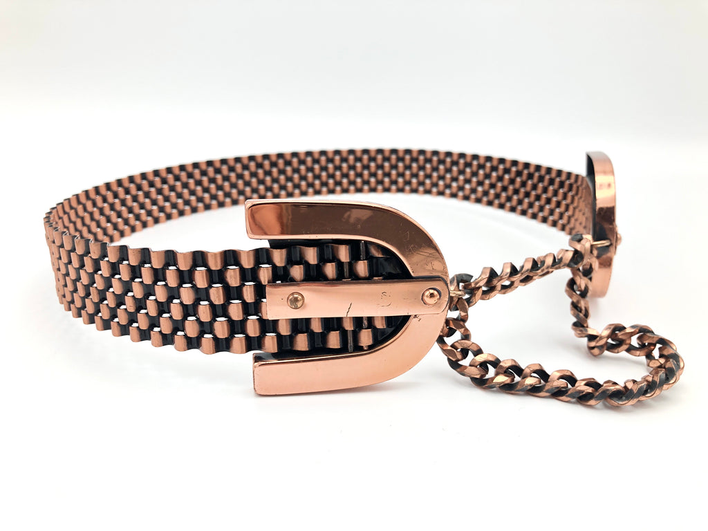 Vintage Solid Copper Belt