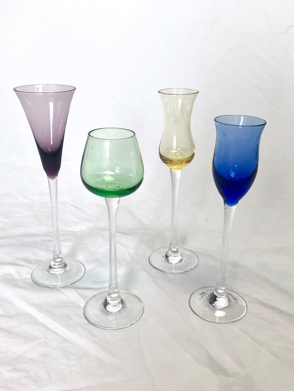 Vintage Crystal Cordial Glasses
