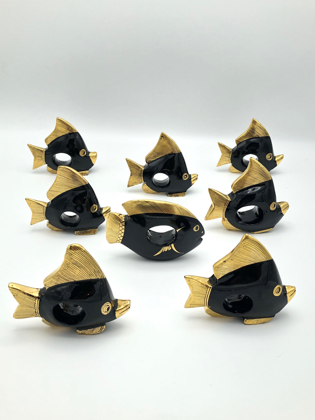 Vintage Fish Napkin Rings