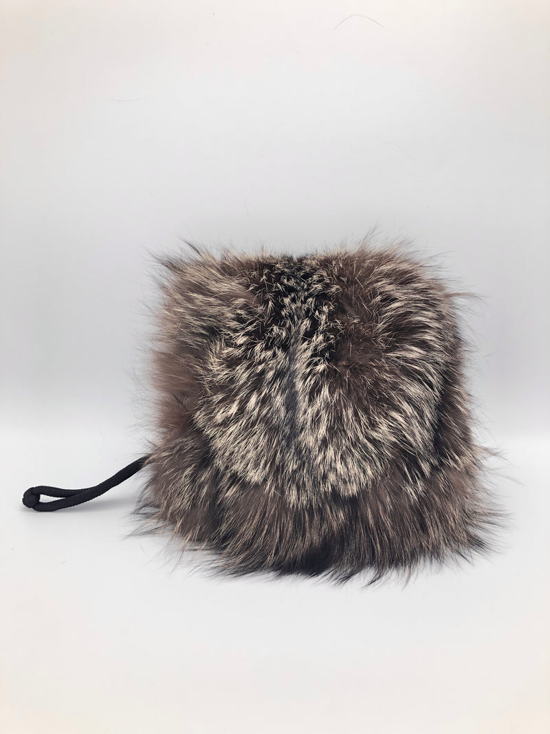 Vintage Coyote Fur Muff Purse