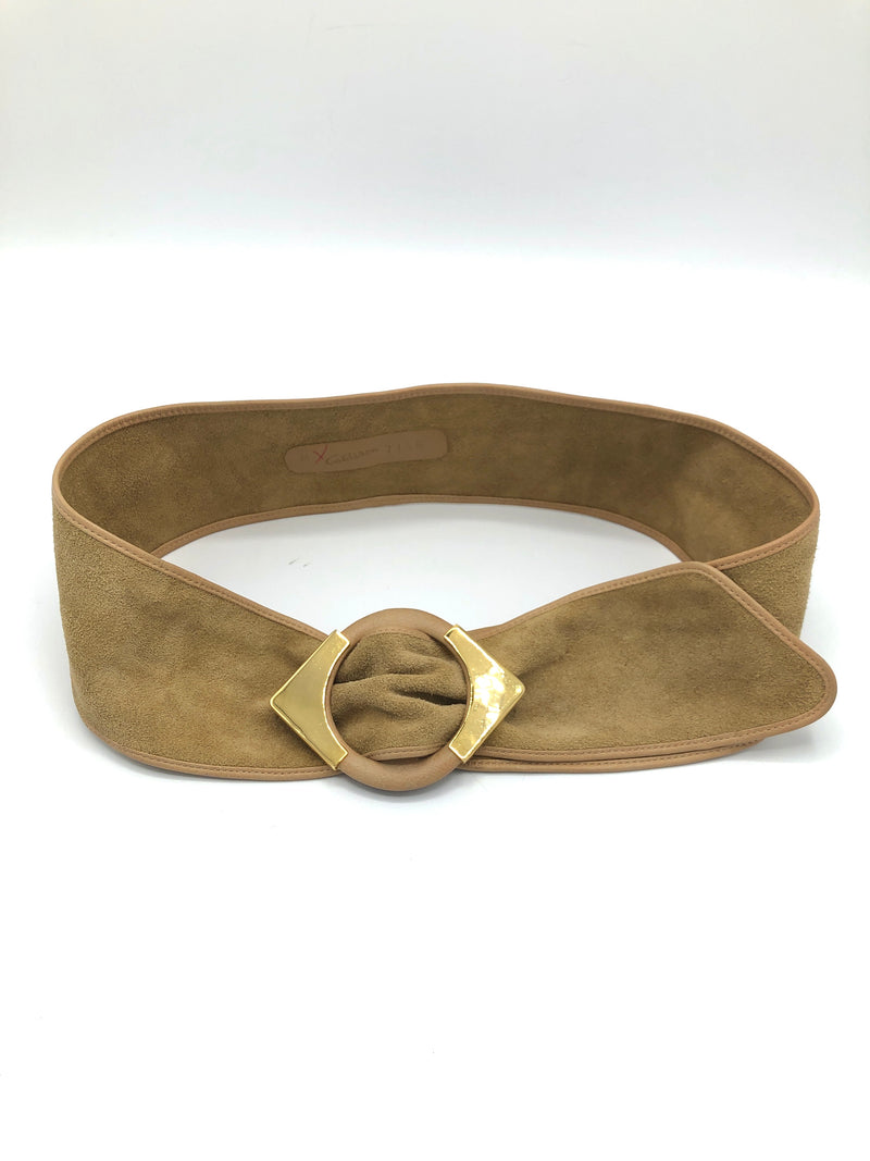 Vintage Soft Suede Belt
