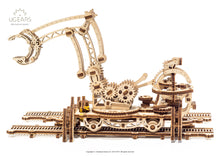"Load image into Gallery viewer, ROTARY RAIL CRANE from the""Mechanical City""series"