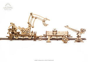 "ROTARY RAIL CRANE from the""Mechanical City""series"