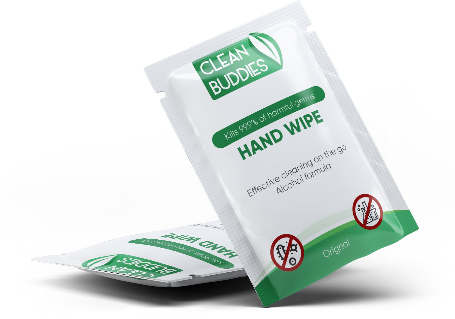 Clean Buddies™ Hand Sanitizing Wipes 500 pack