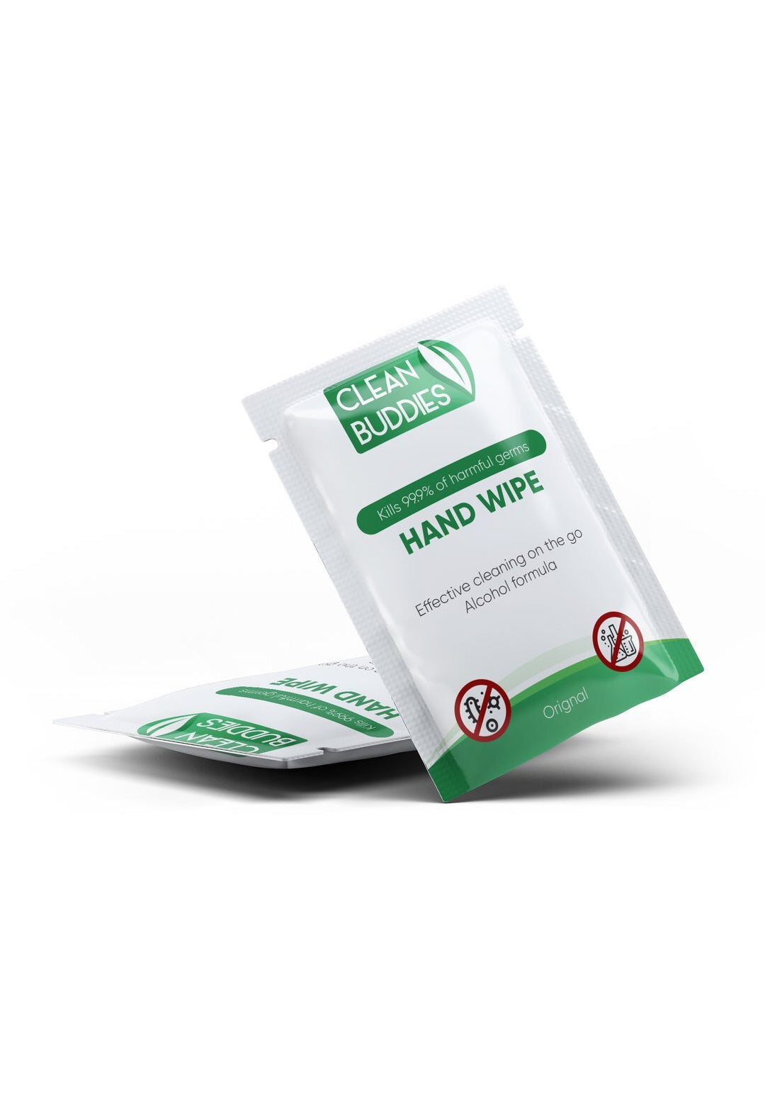 Clean Buddies™ Hand Sanitizing Wipes 200 Pack