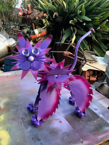 Purple Scardy Cat