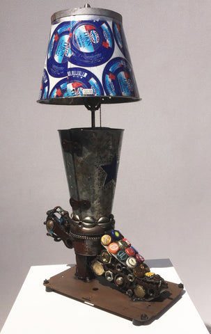 Lone Star Cowboy Boot Lamp