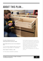 Load image into Gallery viewer, 5 Drawer Dresser PDF Plans