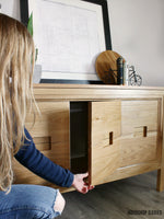 Load image into Gallery viewer, Modern Dresser Console PDF Plans