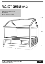 Load image into Gallery viewer, House Bed PDF Plans