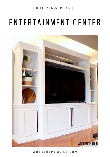 Entertainment Center PDF Building Plans