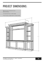 Load image into Gallery viewer, Entertainment Center PDF Building Plans