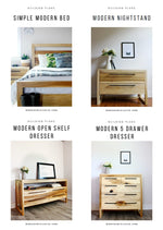 Load image into Gallery viewer, Modern Bedroom Set BUNDLE