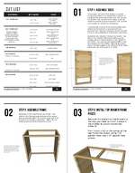 Load image into Gallery viewer, Modern 5 Drawer Dresser Plans