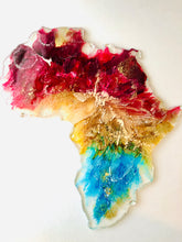 Load image into Gallery viewer, Large Resin Africa