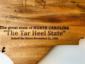 NC Cheese Board/Cutting Board