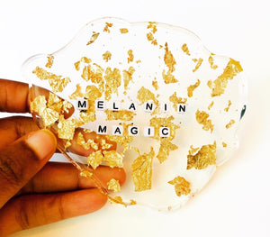 Melanin Magic Resin Coasters