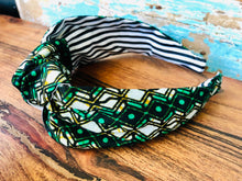 Load image into Gallery viewer, Knotted Fabric Headband