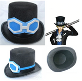 One Piece Sabo Cosplay Black Top Hat