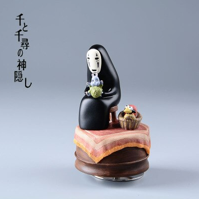 Studio Ghibli Spirited Away Kaonashi No Face Music Box