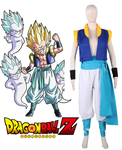 Dragonball Z Gotenks Fighting Uniform Cosplay Costume