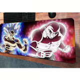 Dragon Ball Z Goku Super Saiyan White Battles Majin Buu Mouse Pad